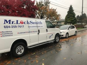 Locked out Nissan Versa | Mr. Locksmith Burnaby Moscrop Area